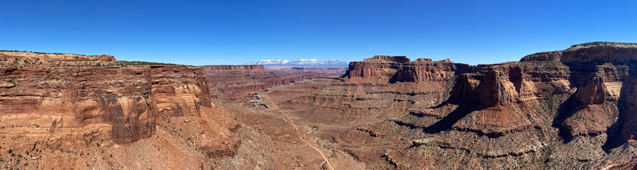 Needles District at Canyonlands NP in UT