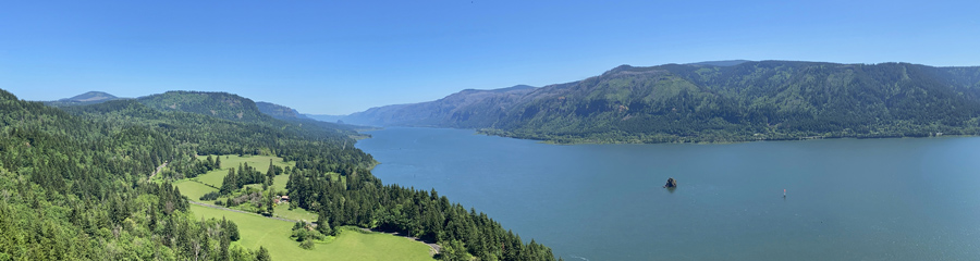 Cape Horn at Columbia River Gorge in WA