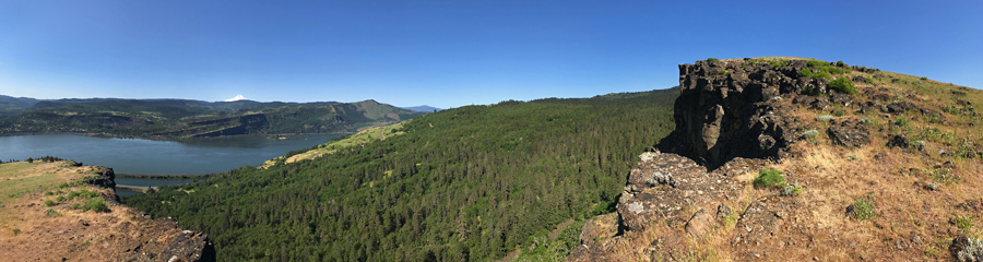 Coyote Wall at Columbia River Gorge in WA