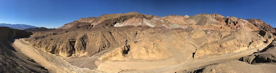 Artist Palette at Death Valley NP in CA