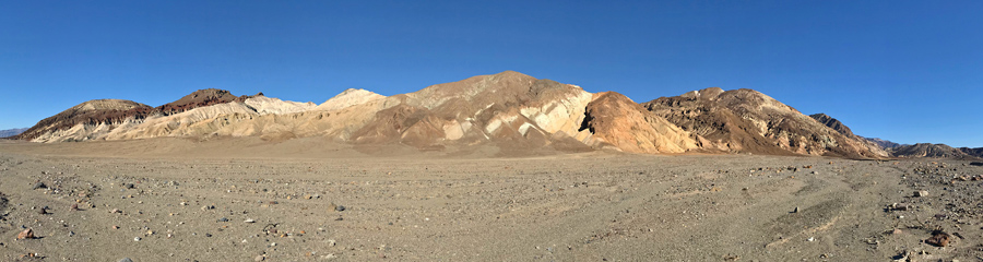 Black Mountains at Death Valley NP in CA
