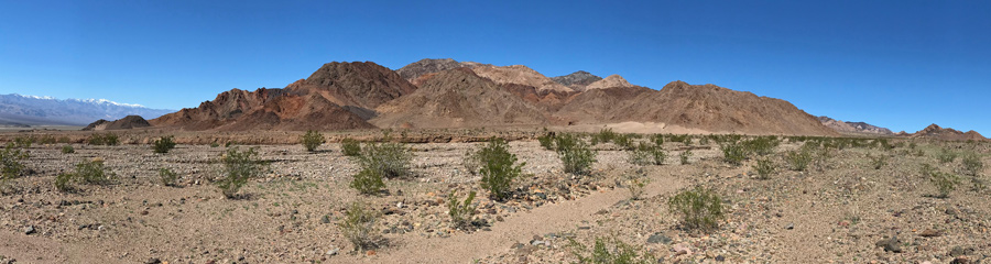 Mountains at Death Valley NP in CA