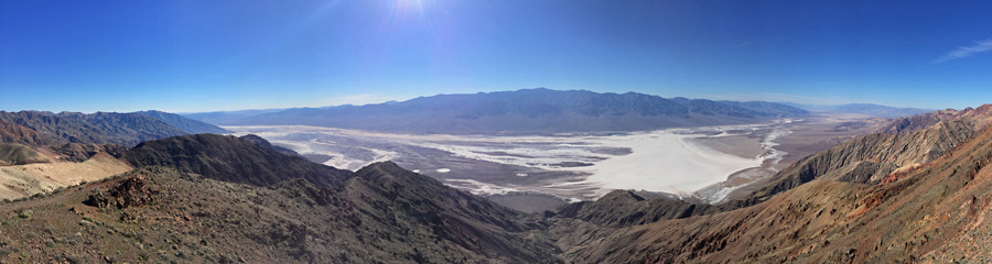 Dante's View at Death Valley NP in CA