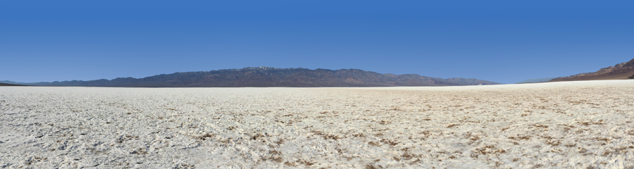 Badwater Basin at Death Valley NP in CA