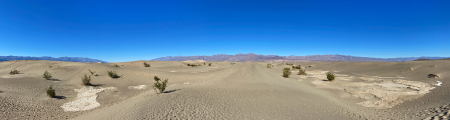 Sand Dunes at Death Valley NP in CA