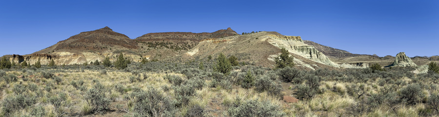 Foree and Flood of Fire at Fossil Beds in OR