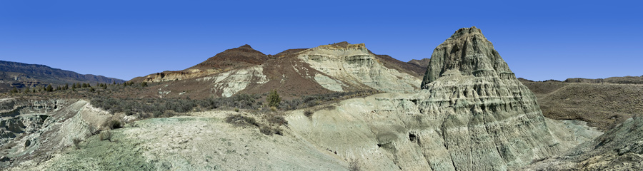 Foree and Story in Stone at Fossil Beds in OR