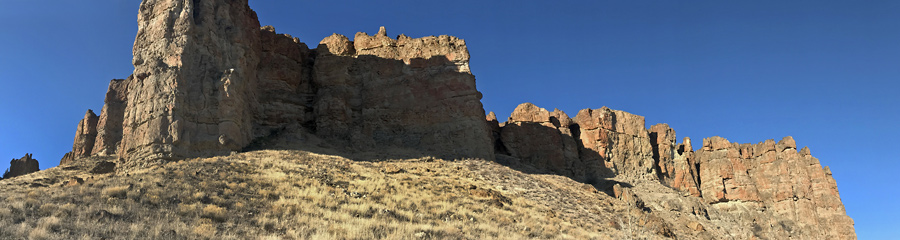 Clarno Palisades at Fossil Beds in OR