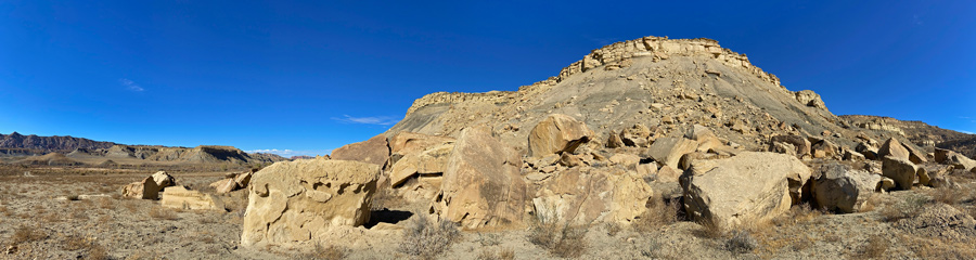 Cottonwood Canyon at Grand Staircase-Escalante in UT