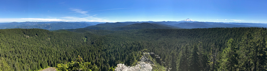 Larch Mountain in OR