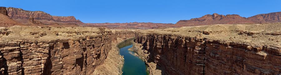 Colorado River at Marble Canyon in AZ