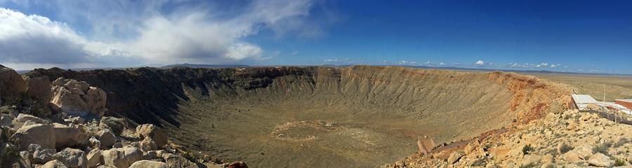 Meteor Crater in AZ