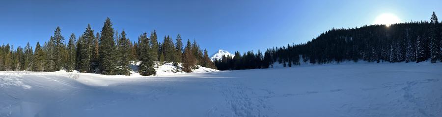 Mirror Lake at Mt. Hood in OR
