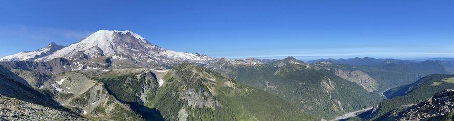 Glacier Basin at Mt. Rainier NP in WA