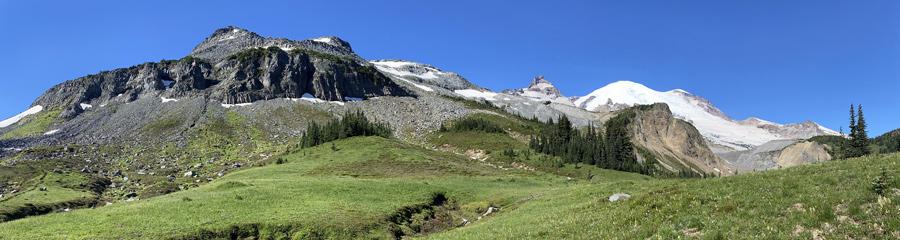 Burroughs at Mt. Rainier NP in WA