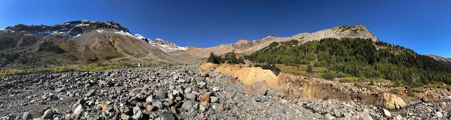 Panhandle Gap at Mt. Rainier NP in WA