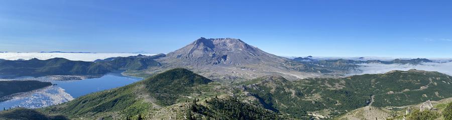 Summit of Mt. St. Helens in WA