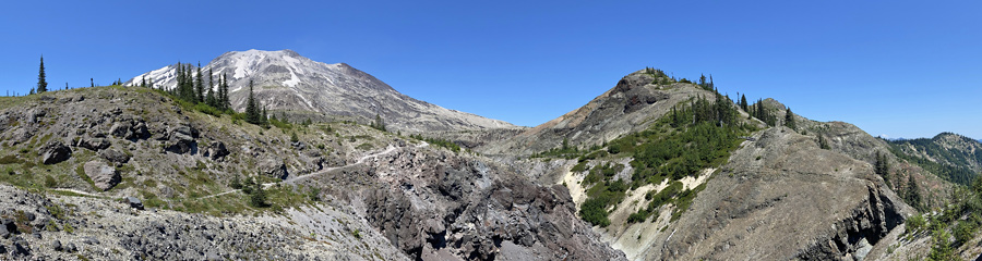 Plains of Abraham at Mt. St. Helens NM in WA