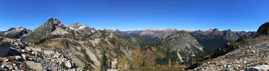 Heather-Maple Pass at North Cascades NP in WA