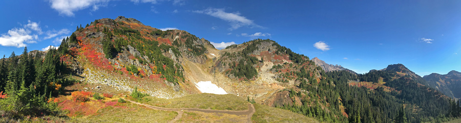 Yellow Aster Butte at North Cascades NP in WA