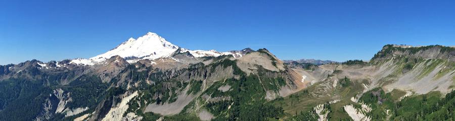 Cascade Pass at North Cascades NP in WA
