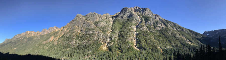Silver Star Mountain at North Cascades NP in WA