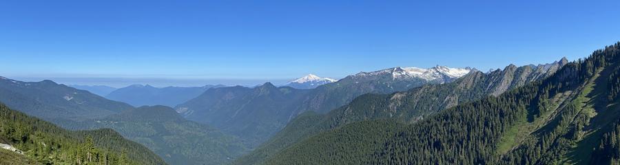 Hidden Lake at North Cascades NP in WA