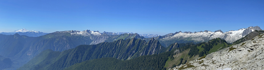 Sahale Arm at North Cascades NP in WA