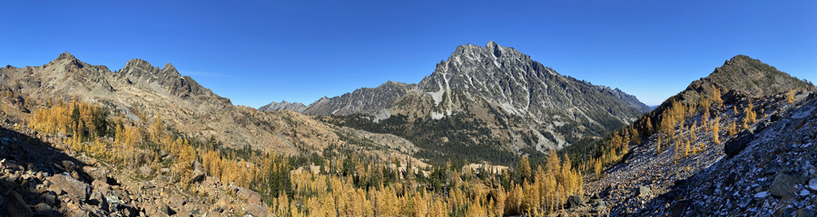 Gothic Basin at North Cascades NP in WA