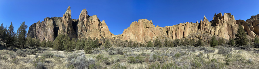 Smith Rock in Central OR