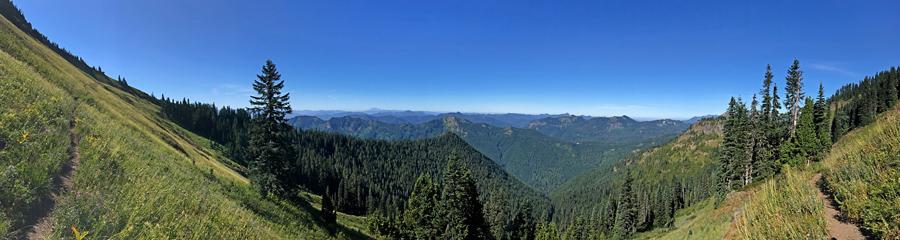 Tatoosh Ridge at Tatoosh Wilderness in WA