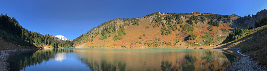 Tatoosh Lakes at Tatoosh Wilderness in WA
