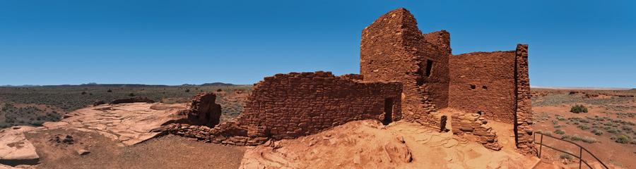 Wukoki Ruin at Wupatki NM in AZ